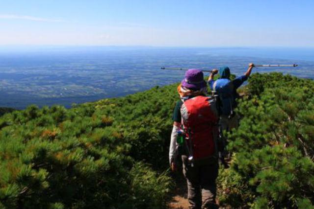 【知床・登山ツアー】心をいやす手つかずの原生林!雄阿寒岳の絶景を見に行こう