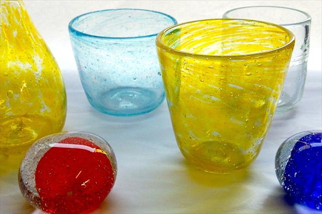 【北海道・ガラス工芸】吹きガラスに挑戦!1人でも3人でもOK、お得な3品制作プラン