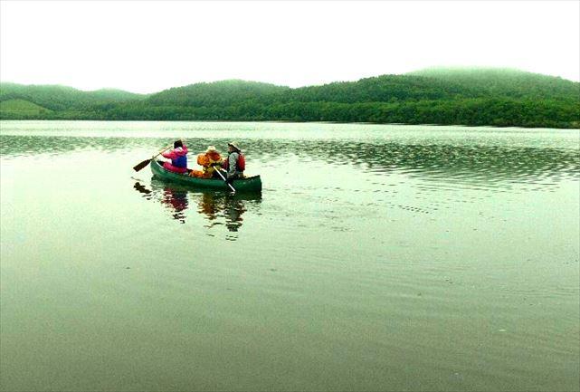 【北海道・塘路湖・カヌー】塘路湖から岩保木水門へ。絶景の湿原が楽しめるカヌーロングコース