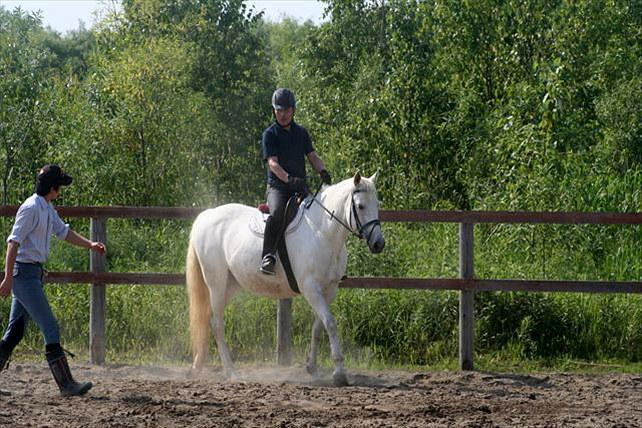 【北海道・南幌ライディングパーク・引綱乗馬5分】馬の背の高さに驚き! 初めての引綱乗馬