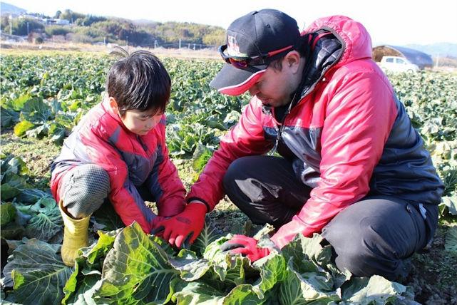 【いわき市・農業体験・1日】野菜の収穫体験!若手農家と農場めぐり