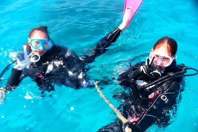 【体験ダイビング】沖縄本島北部・本部町の美しい海で体験ダイビングにチャレンジしよう!
