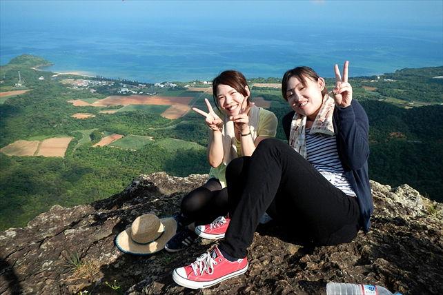 【半日・トレッキング】野底岳の山頂から石垣島と太平洋を一望!プラン