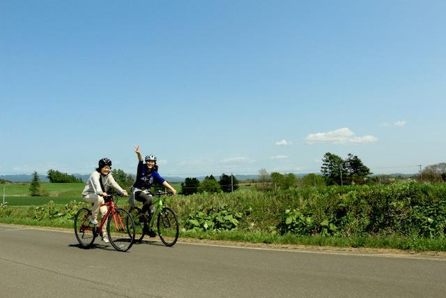 【札幌近郊・ロードバイク】北海道の風光明媚な景色を堪能!ロードバイク20kmプラン★スポーツドリンクプレゼント