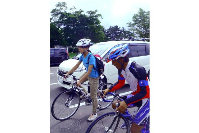 【札幌近郊・ロードバイク】牧場訪問も楽しめる、初心者向け25kmサイクリングプラン★スポーツドリンクプレゼント