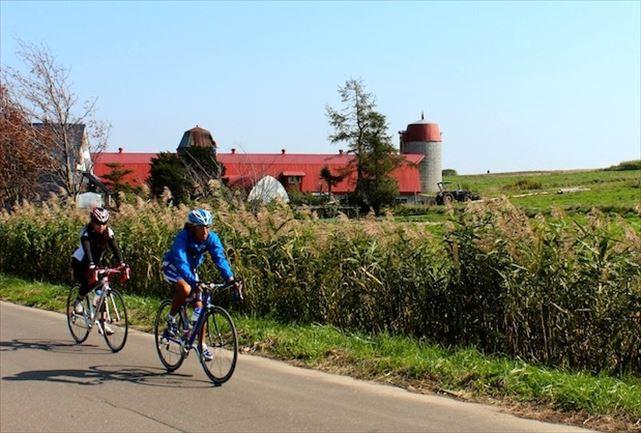 【札幌近郊・ロードバイク】吹きガラス体験や果実狩りも!観光も楽しめる25kmサイクリングプラン★スポーツドリンクプレゼント