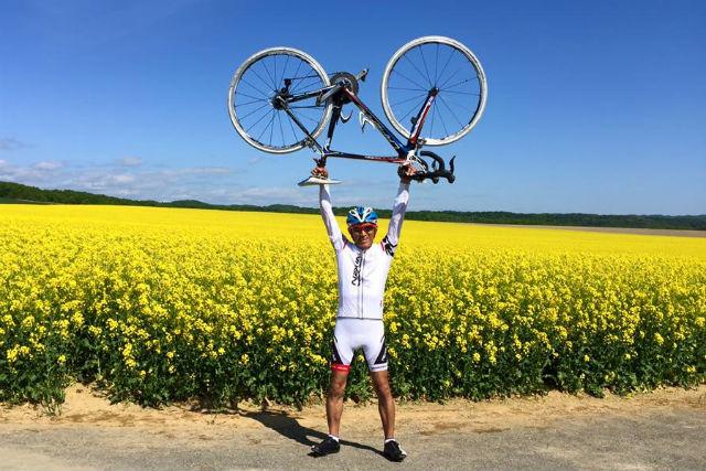 【札幌近郊・サイクリング】パレットの丘30kmコース・ロードバイクツアー(ドリンクサービス付き)