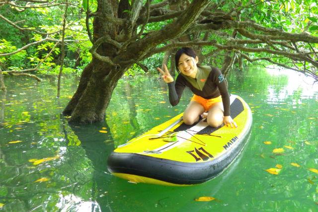【沖縄県石垣島・SUP】人気上昇中のSUPに乗って、マングローブ林をのんびりお散歩