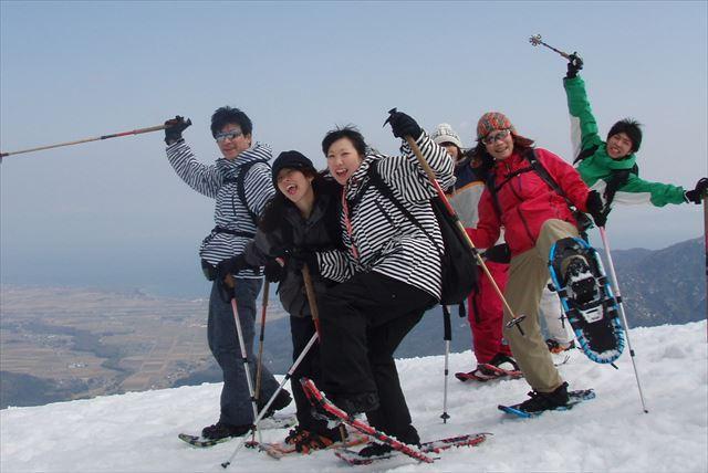 【滋賀・スノーシュー・蛇谷が峰】驚きの絶景を見に行く、ランチ付きプラン