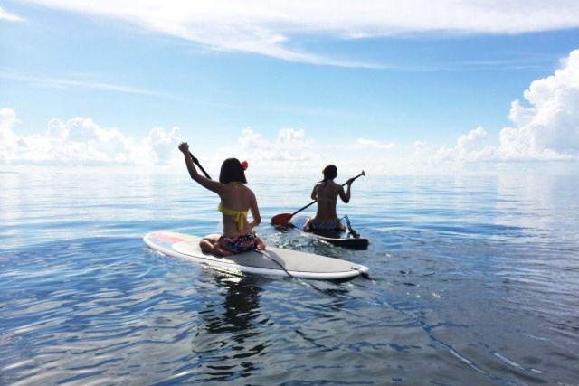 【福岡・体験ダイビング】SUP&ダイビング&お洒落カフェ!海での女子旅にぴったりのツアー