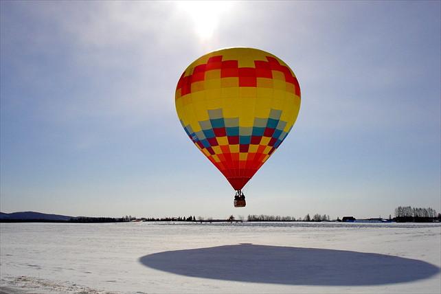 【北海道十勝・熱気球】十勝平野を空から見おろす、熱気球フライト体験