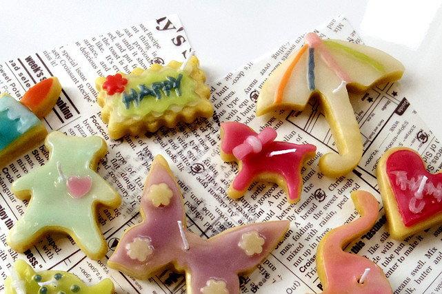 【兵庫県西宮市・キャンドル作り】パティシエ気分で作ろう!アイシングクッキー風キャンドル