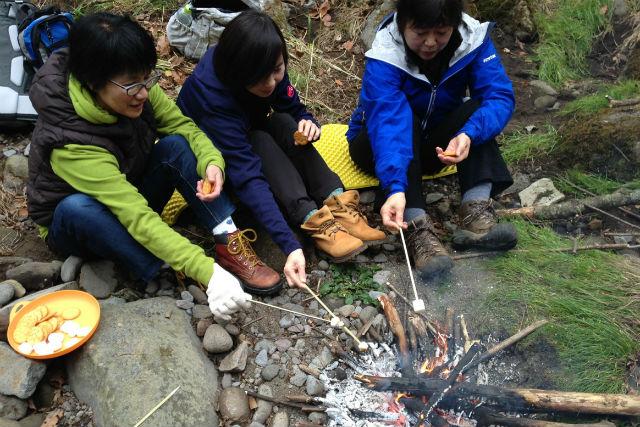 【山梨・北杜市・トレッキング】焚き火カフェで、大人の野遊びを楽しもう!