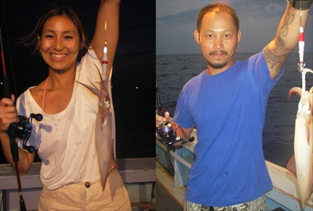 【島根・釣り体験】年間通して楽しめる!松江、下関沖、大漁イカ釣りで大満足!