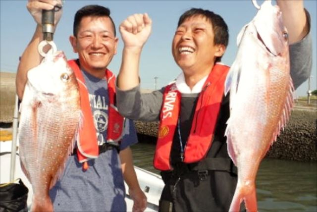 【熊本県・海釣り中級上級者コース】天草方面で狙う高級魚!真鯛やヒラメを釣り上げよう
