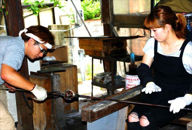 【佐賀・ガラス細工】肥前びーどろの伝統工芸を体験!マイグラス作り(第3土曜日開催)
