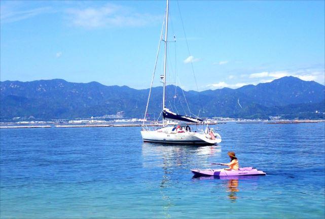【広島・1日・ヨットクルージング】太平洋一周を果たしたヨットと自由に過ごす、瀬戸内海の一日セイリング