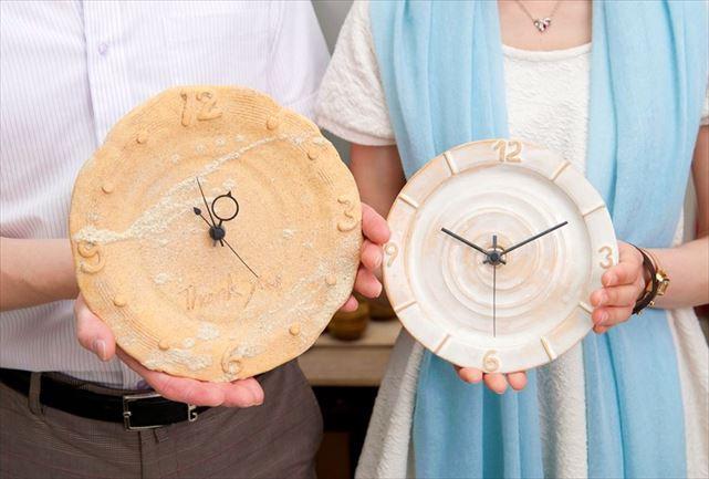 【大阪梅田駅近】毎日開催!世界に一つ。陶器で作るオリジナルの時計