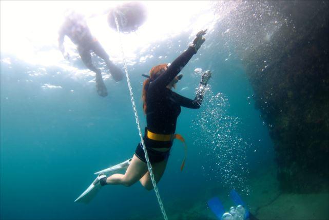 【伊豆・ダイビング】身軽に海中探訪!心と体が満たされる至福のスキンダイビング(ご自宅送迎付)
