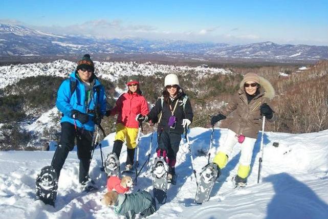 【長野県・スノーシュー・高峰山】眺望抜群!歩きやすく初心者も安心なトレッキング