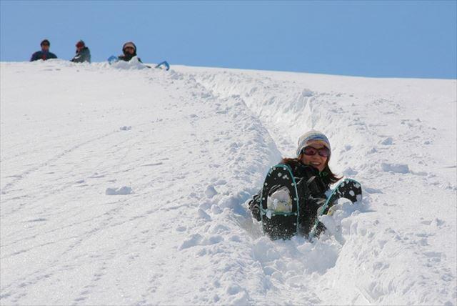 【岐阜県高鷲・スノースライダー体験】 自然のジェットコースター!ちょっと過激なお尻滑り!