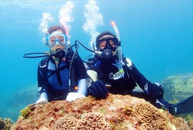 【宮崎・体験ダイビング】初心者におすすめ!ダイビングのプロと行くボート体験ダイビング