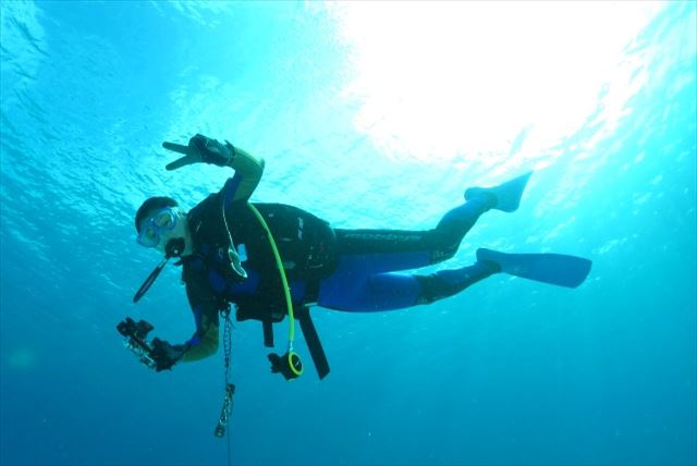 【岡山・スキューバダイビング】より深く美しい海の世界へ誘う、ファンダイビング!