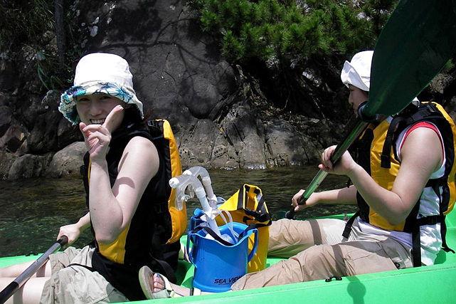 【熊本県天草・1日・牛深シーカヤックワンデイトリップ】陸からは行けない、見たことのない世界へ!