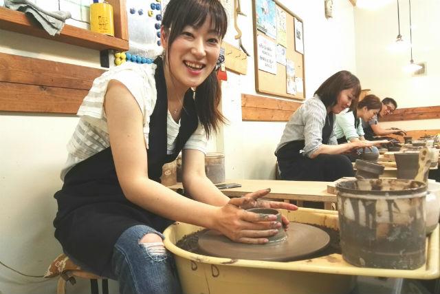 【福島・陶芸体験】初心者大歓迎!電動ろくろで本格陶芸を楽しもう