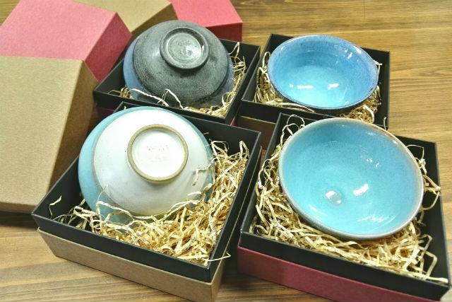 【福島・陶芸体験】ご両親に感謝の気持ちを込めて。ウエディングプランA(湯のみorお茶碗4つ)