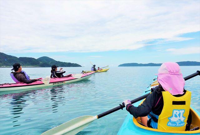 【奄美大島・シーカヤック】無人ビーチで昼食を!非日常を体験できるシーカヤック&デイキャンプ