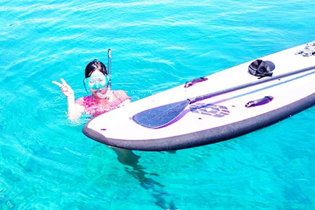 【沖縄・SUP】人気沸騰中の新感覚スポーツSUPを体験しよう!