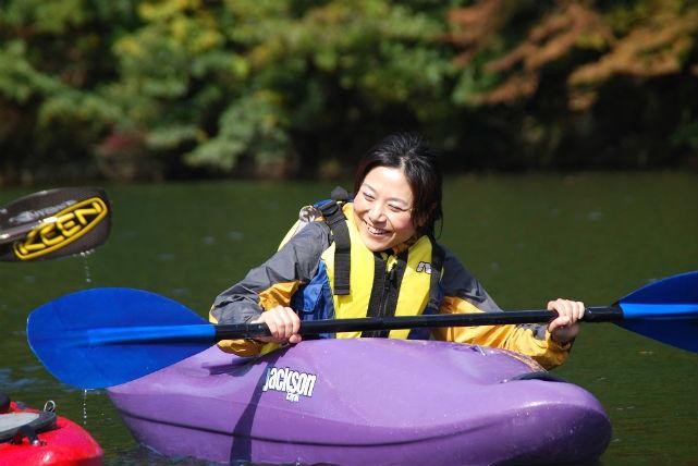 【新潟県湯沢町・カヤック】大源太湖をカヤックで散策!ランチ付き1日コース