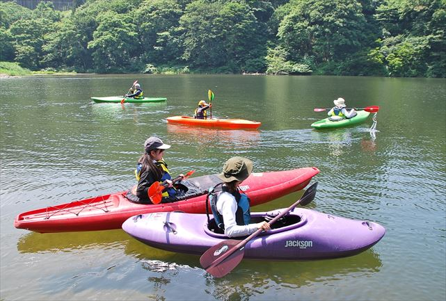 【新潟県湯沢町・カヤック】大源太湖をカヤックで散策!手軽に楽しむ半日コース