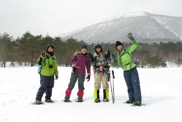 【宮城・トレッキング・1日】冬限定!雪化粧をまとった泉ヶ岳をスノーシューで歩こう