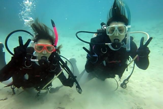 【石垣島・体験ダイビング】どちらも体験したい方に!スキューバと素潜り各1本プラン