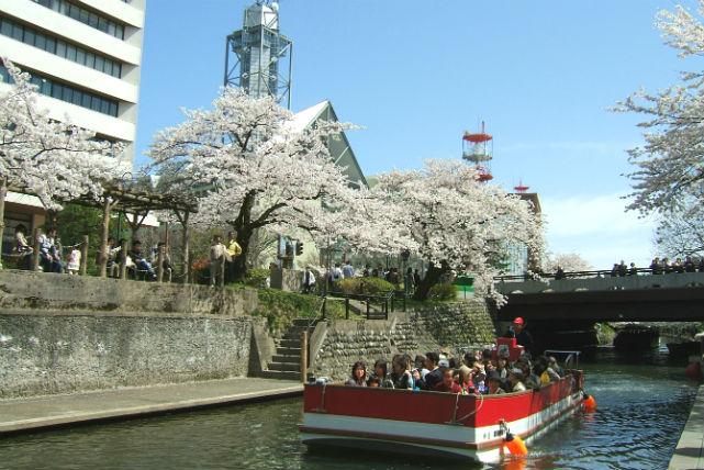 【富山・遊覧船】松川をゆったりと巡る。遊覧船クルージング団体プラン