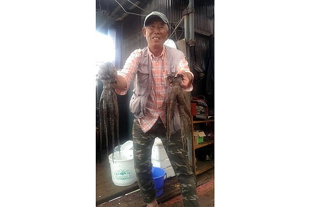 【東京湾・船釣り】小さなタコ、イイダコ釣り。東京湾では、面白いように釣れますよ!