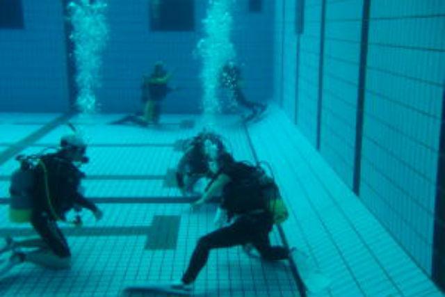【茨城県・体験ダイビング】海の前にお試し!安心できるプール体験ダイビング