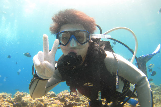 【沖縄・恩納村・体験ダイビング】8歳から参加できる!かんたん体験ダイビング