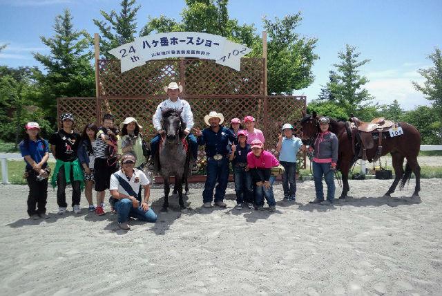 【岐阜県郡上市・乗馬体験・45分】明野高原でカウボーイになろう!ウエスタンスタイルの乗馬体験