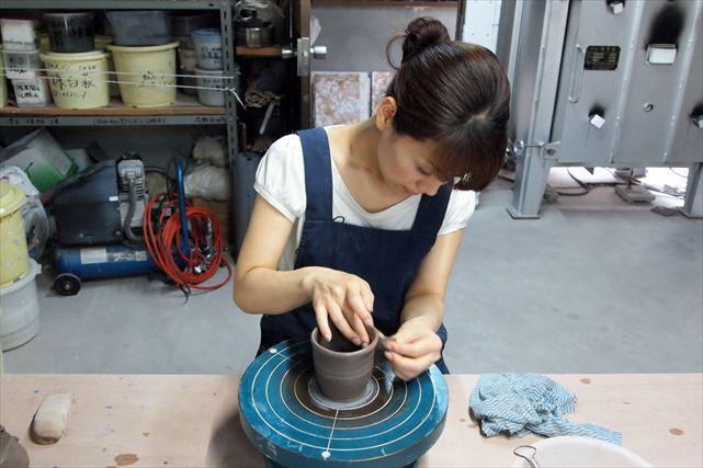 【大阪・陶芸1日体験教室】好きな時に、好きな時間だけ陶芸が気軽に楽しめる