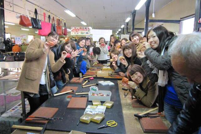 【兵庫県・レザークラフト体験】ブレスレットからポーチまで。オリジナル小物を作ろう