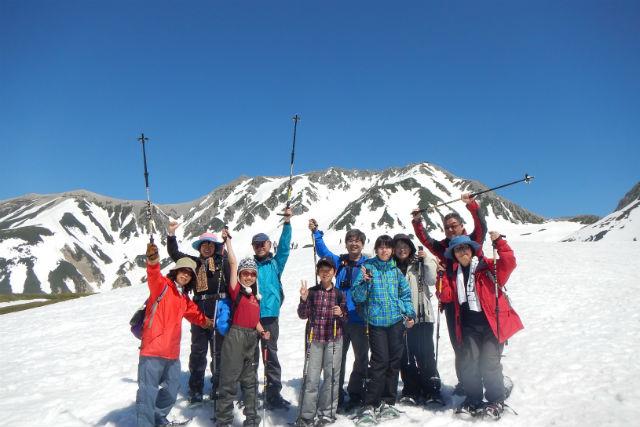 【富山・立山町・スノーシュー】一面の銀世界を満喫!立山・室堂をスノーシューで歩こう