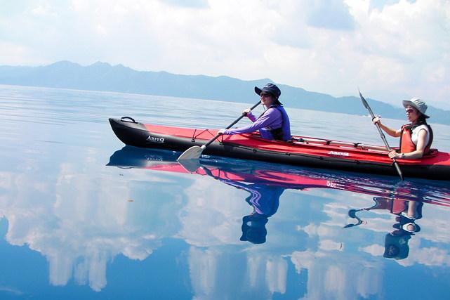 【安比高原・カヤック】田沢湖のダイナミックな景観を満喫!1日アドベンチャー体験&スクールプラン