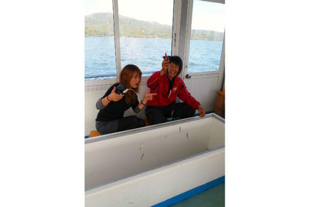 【山梨・山中湖・釣り】ドーム船でぬくぬく!ワカサギ釣りにチャレンジしよう!