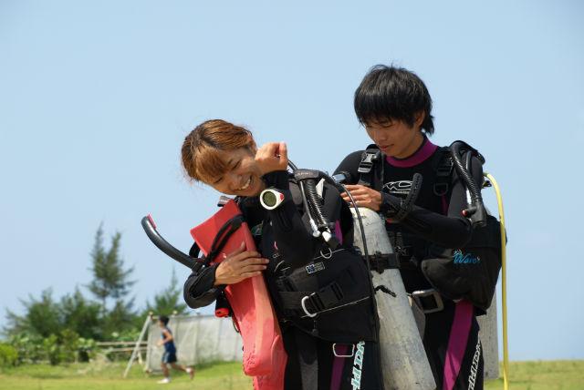 【沖縄・那覇・ライセンス取得】2日でダイバーに!忙しい人でもライセンス取得を目指せるプラン