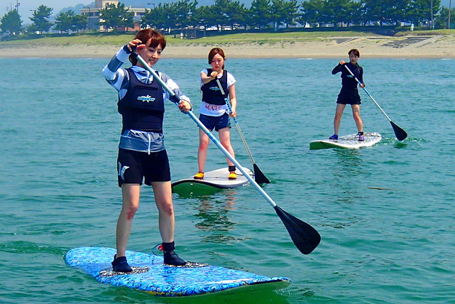 【和歌山・SUP】新感覚のマリンスポーツ!スタンドアップパドルを体験しよう!
