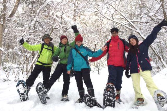 【札幌・スノーシュー】野幌森林公園でスノーシュートレッキング。エゾフクロウの棲む森を探索しよう