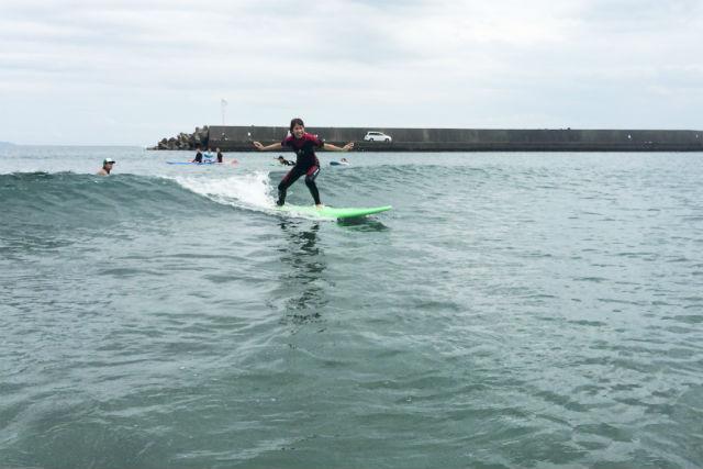 【徳島・サーフィン・半日】波がおだやかで上達しやすい!ファーストダイビングはここで決まり!